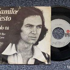 Discos de vinilo: CAMILO SESTO - SOLO TÚ / GOOD BYE MY LOVE. EDITADO POR ARIOLA. AÑO 1.976. Lote 197487677