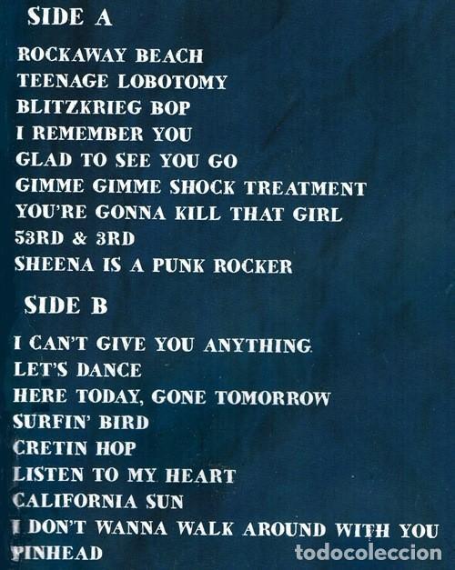 Discos de vinilo: V531 - RAMONES. LIVE IN NEW YORK NOVEMBER 14TH 1977. LP VINILO NUEVO PRECINTADO - Foto 3 - 197493030