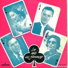 Disques de vinyle: LOS ASES DEL FLAMENCO Nº 3 (VARIOS) EP 1958 . Lote 197501050