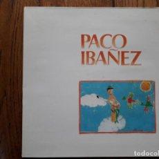 Disques de vinyle: PACO IBAÑEZ. Lote 197514582