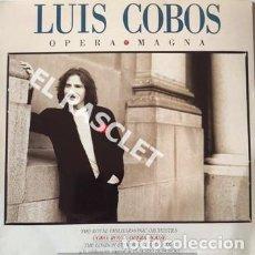 Discos de vinilo: MAGNIFICO LP -LUIS COBOS - OPERA MAGNA. Lote 197515486