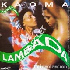 Discos de vinilo: MAGNIFICO LP - KAOMA - LAMBADA. Lote 197516508