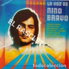 Discos de vinilo: MAGNIFICO LP - LA VOZ DE NINO BRAVO. Lote 197518042