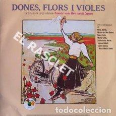 Discos de vinilo: MAGNIFICO LP - DONES, FLORS I VIOLES. Lote 197519007