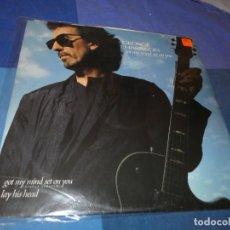 Discos de vinilo: 12 MAXI GEORGE HARRISON GOT MY MIND SET ON YOU UK 1989 MUY BUEN ESTADO TAPA Y VINILO BEATLES. Lote 197521058