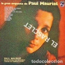 Discos de vinilo: MAGNIFICO LP - PAUL MAURIAT - TEMAS DE SABOR LATINO. Lote 197521877