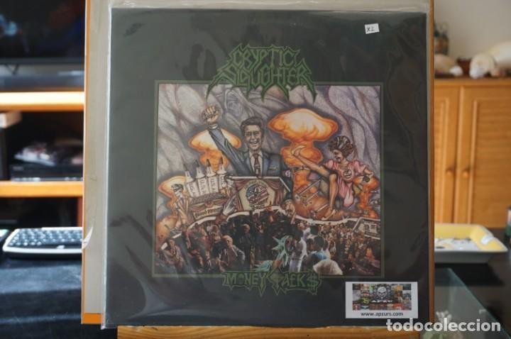 (LP-NUEVO PRECINTADO) / CRYPTIC SLAUGHTER – MONEY TALKS - RELAPSE RECORDS – RR6547 (Música - Discos - LP Vinilo - Heavy - Metal)