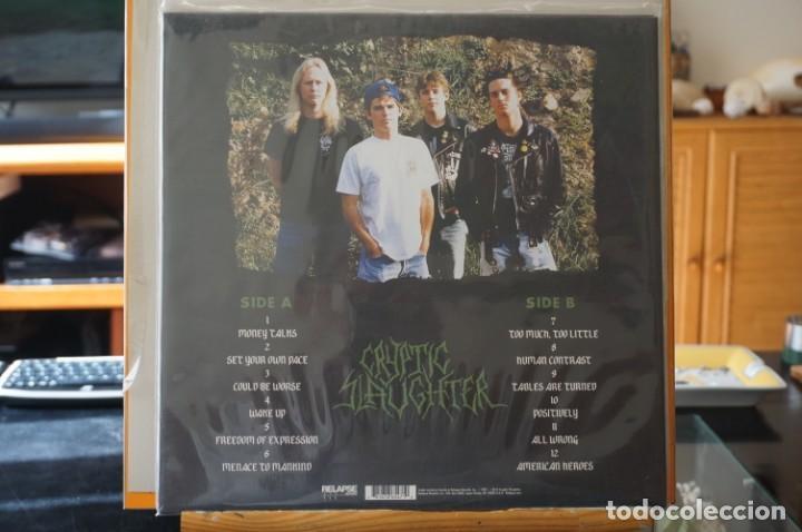 Discos de vinilo: (LP-NUEVO PRECINTADO) / Cryptic Slaughter – Money Talks - Relapse Records – RR6547 - Foto 2 - 197525841