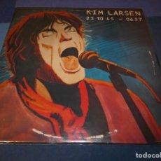 Discos de vinilo: LP ROCK INDIE- NORDICO KIM LARSEN 23 10 45 UK 1979 LEVES SEÑALES EN PORTADA MUY BUEN ESTADO DE VINIL. Lote 197528350