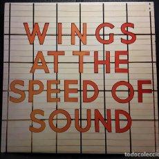Discos de vinilo: PAUL MCCARTNEY - WINGS - BEATLES - WINGS AT THE SPEED OF SOUND - LP - ORIGINAL - HOLANDA - RARO. Lote 197536162