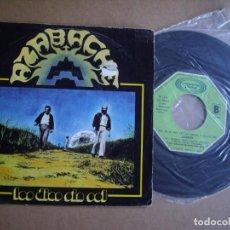 Disques de vinyle: AZABACHE SG 7'' LOS DÍAS SIN SOL MOVIDA RARO MOVIEPLAY 1979 VG / EX+. Lote 197540823
