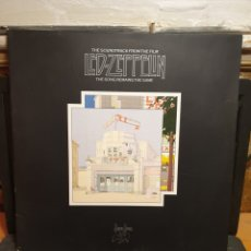 Discos de vinilo: LED ZEPPELLIN, THE SOUNDTRACK FROM THE FILM. Lote 197559288
