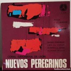 Discos de vinilo: NUEVOS PEREGRINOS - CORAL ISIDORIANA DE LEÓN. Lote 197559610