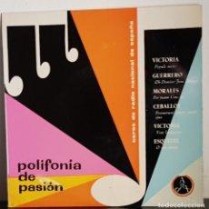 Discos de vinilo: POLIFONICA DE PASION -1960. Lote 197559927
