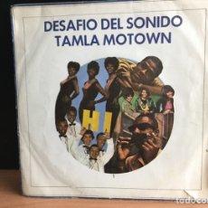 Discos de vinilo: DESAFIO DEL SONIDO TAMLA MOTOWN (EP, PROMO) (TAMLA MOTOWN) M-504 (D:VG). Lote 197566201