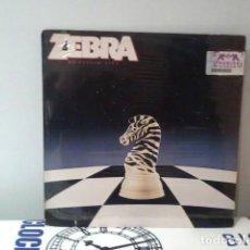 Discos de vinilo: ZEBRA LP NO TELLIN' LIES PRECINTADO, NUEVO. Lote 197574577