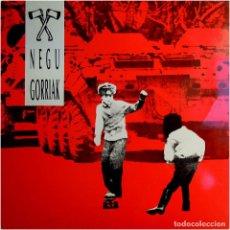 Discos de vinilo: NEGU GORRIAK (FERMIN MUGURUZA) 1ER ALBUM - LP SPAIN 1990 - OIHUKA O-190. Lote 197576621