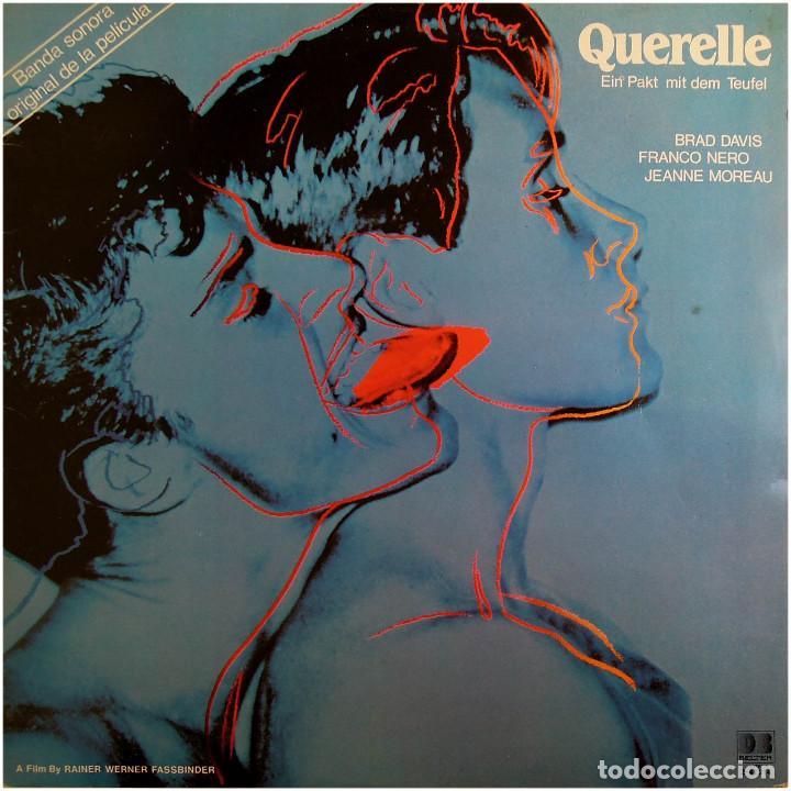 PEER RABEN – BSO DE LA PELÍCULA QUERELLE -EIN PAKT MIT DEM TEUFEL- LP SPAIN 1982 - DB BELTER  (Música - Discos - LP Vinilo - Bandas Sonoras y Música de Actores )