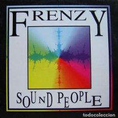 Discos de vinilo: FRENZY – SOUND PEOPLE. Lote 197585423