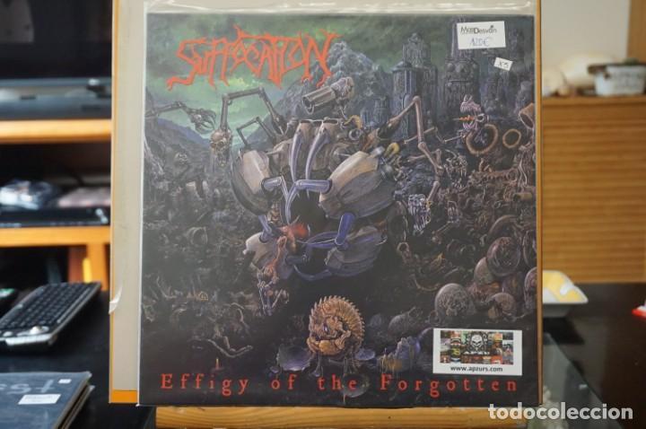 (LP-NUEVO PRECINTADO) / SUFFOCATION – EFFIGY OF THE FORGOTTEN - LISTENABLE RECORDS – POSH332 (Música - Discos - LP Vinilo - Heavy - Metal)