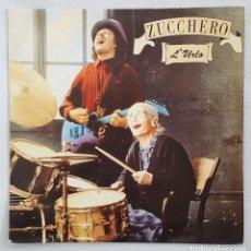 Discos de vinilo: SINGLE / ZUCCHERO / L'URLO - MISERERE / POLYDOR ESPAÑA 1992 PROMO. Lote 197601731