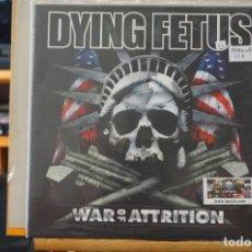 Discos de vinilo: (LP-NUEVO PRECINTADO) / DYING FETUS – WAR OF ATTRITION - RELAPSE RECORDS – RR6704. Lote 197602031