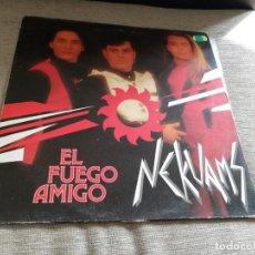 Discos de vinilo: NEKUAMS-EL FUEGO AMIGO. MAXI. Lote 197609070