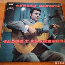 Discos de vinilo: LP ANDRÉS BATISTA. CALES Y FLAMENCOS. . Lote 197625906