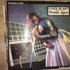 Discos de vinilo: FRIENDS AGAIN: STATE OF ART. Lote 197634490