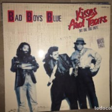 Discos de vinilo: BAD BOYS BLUE: KISSES AND TEARS. Lote 197636012