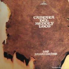 Discos de vinilo: LOS SABANDEÑOS-CANTATA DEL MERCE Y LOCO. Lote 197636190