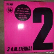 Discos de vinilo: THE KLF: 3 A.M. ETERNAL. Lote 197636276