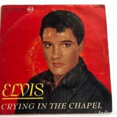Discos de vinilo: EP ELVIS PRESLEY CRYING IN THE CHAPEL EDITADO EN ESPAÑA 1965. Lote 197651036