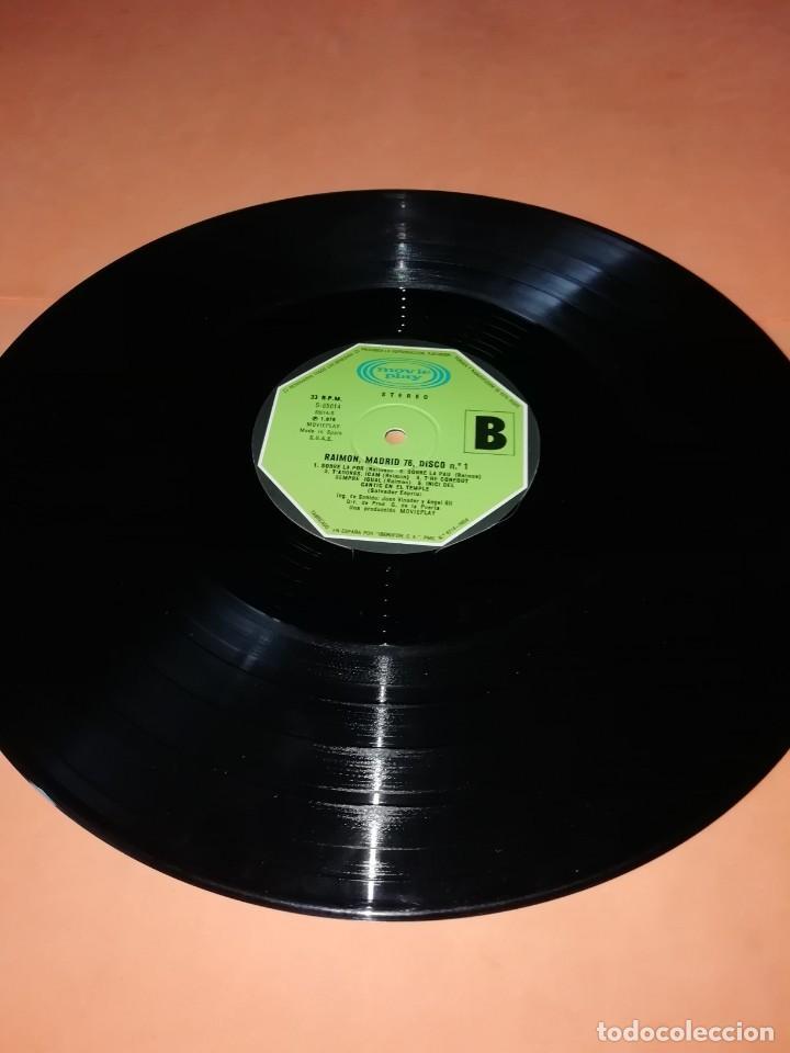 Discos de vinilo: RAIMON. EL RECITAL DE MADRID. DOBLE LP . MOVIEPLAY RECORDS 1976 - Foto 9 - 197651781