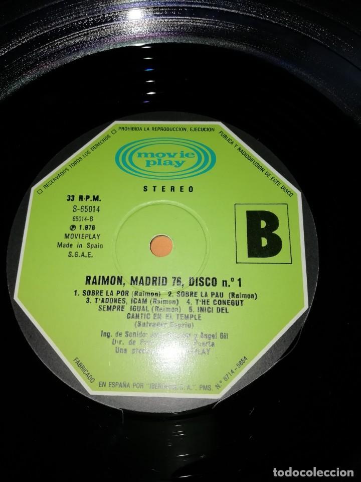 Discos de vinilo: RAIMON. EL RECITAL DE MADRID. DOBLE LP . MOVIEPLAY RECORDS 1976 - Foto 10 - 197651781