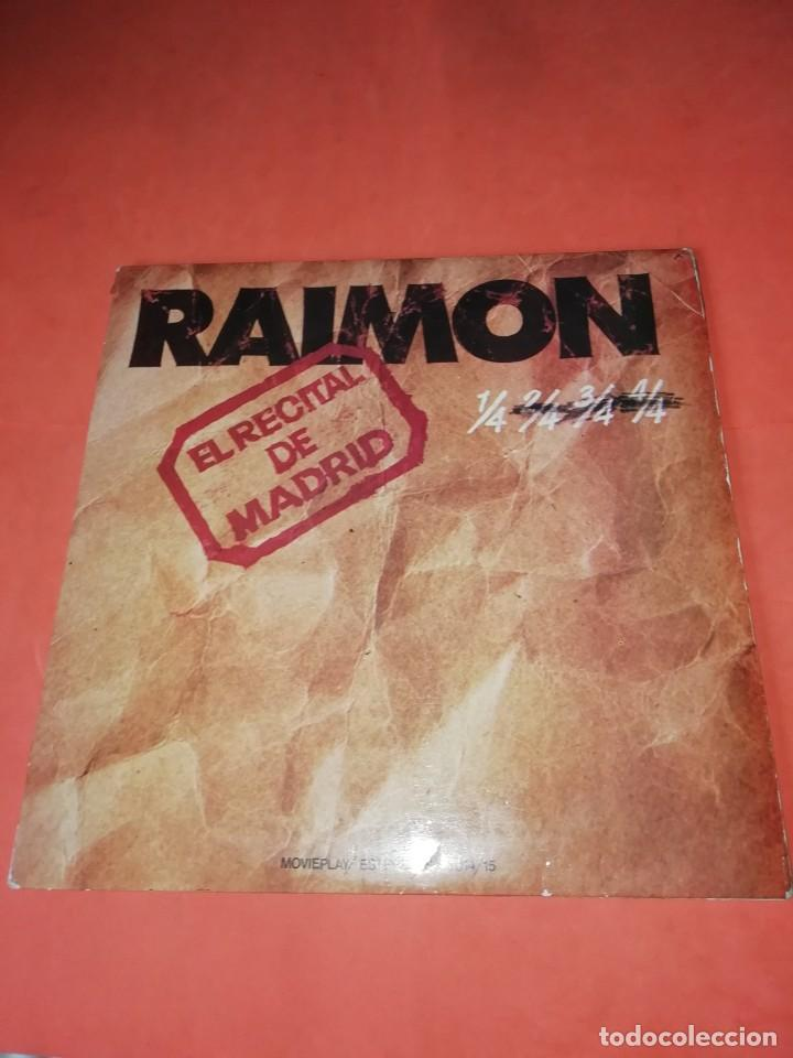RAIMON. EL RECITAL DE MADRID. DOBLE LP . MOVIEPLAY RECORDS 1976 (Música - Discos - LP Vinilo - Solistas Españoles de los 50 y 60)