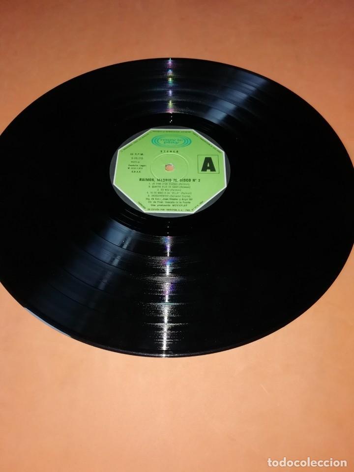 Discos de vinilo: RAIMON. EL RECITAL DE MADRID. DOBLE LP . MOVIEPLAY RECORDS 1976 - Foto 11 - 197651781