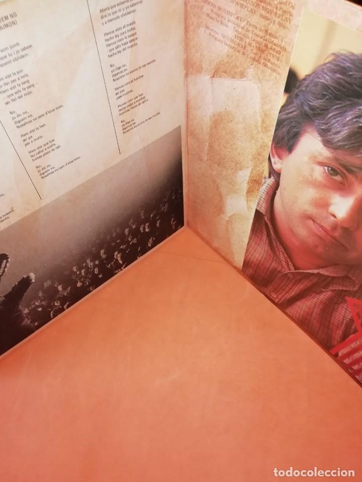 Discos de vinilo: RAIMON. EL RECITAL DE MADRID. DOBLE LP . MOVIEPLAY RECORDS 1976 - Foto 3 - 197651781