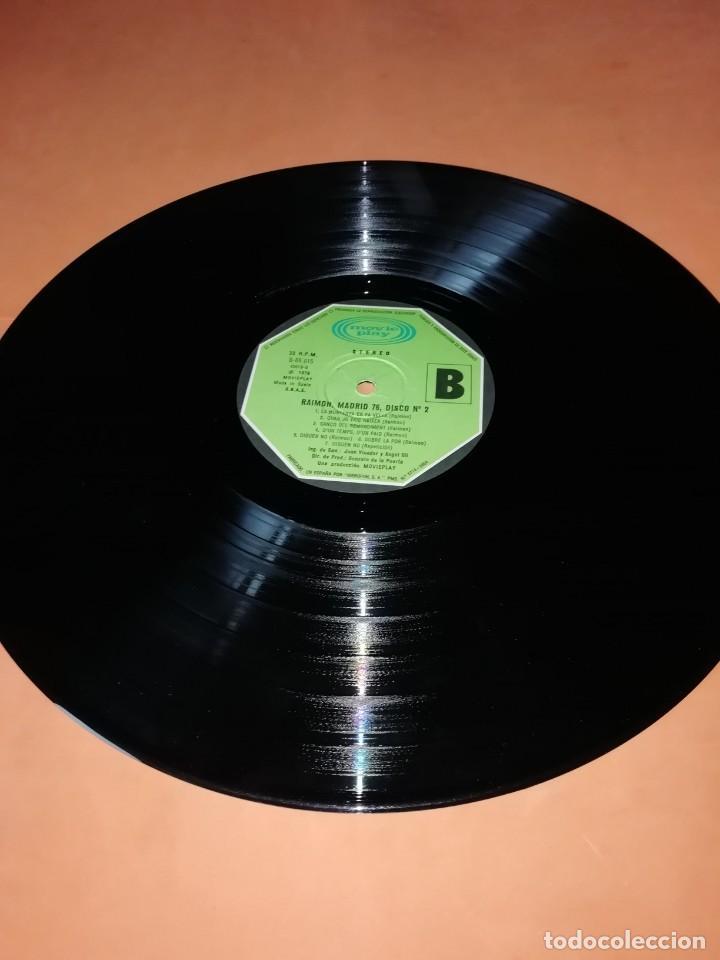 Discos de vinilo: RAIMON. EL RECITAL DE MADRID. DOBLE LP . MOVIEPLAY RECORDS 1976 - Foto 13 - 197651781