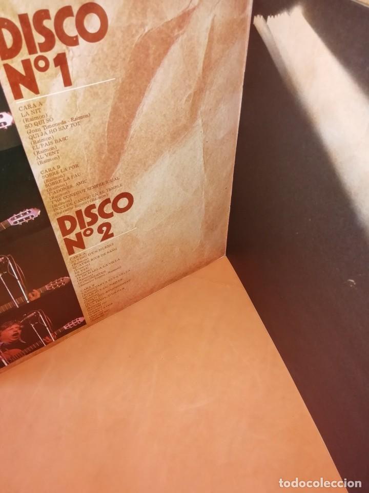 Discos de vinilo: RAIMON. EL RECITAL DE MADRID. DOBLE LP . MOVIEPLAY RECORDS 1976 - Foto 4 - 197651781