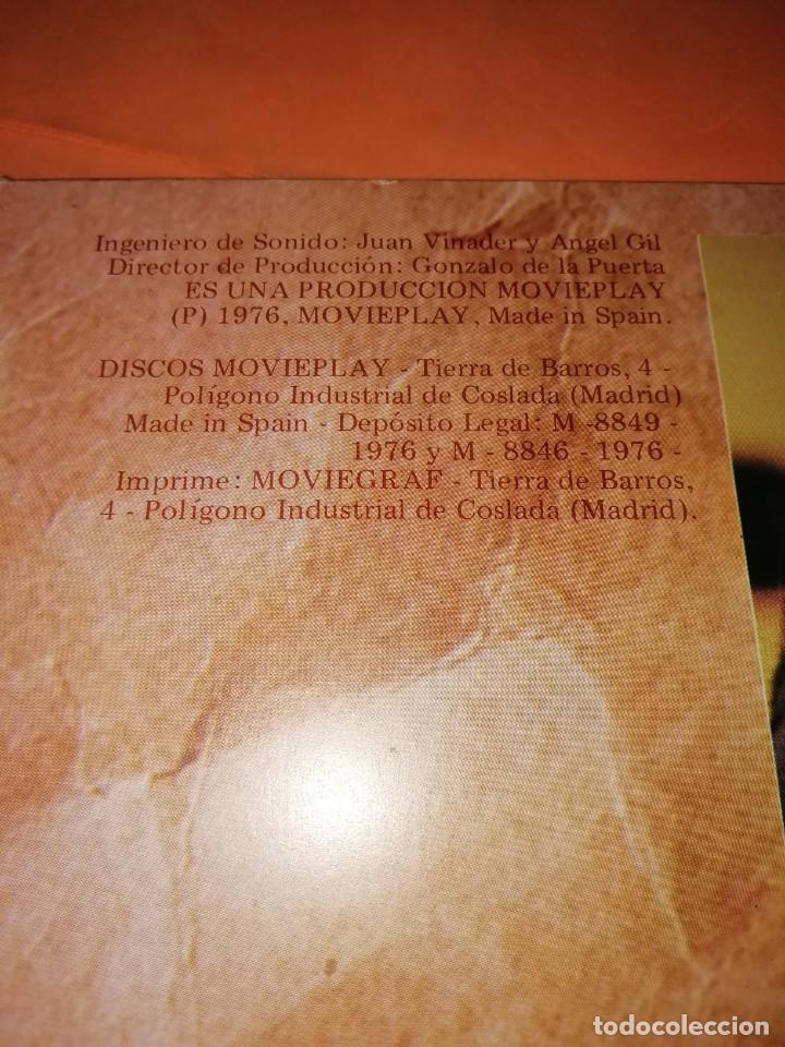 Discos de vinilo: RAIMON. EL RECITAL DE MADRID. DOBLE LP . MOVIEPLAY RECORDS 1976 - Foto 6 - 197651781