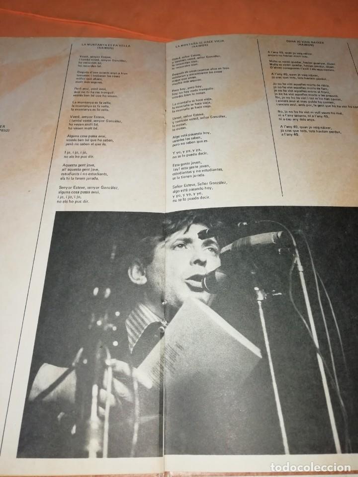 Discos de vinilo: RAIMON. EL RECITAL DE MADRID. DOBLE LP . MOVIEPLAY RECORDS 1976 - Foto 7 - 197651781