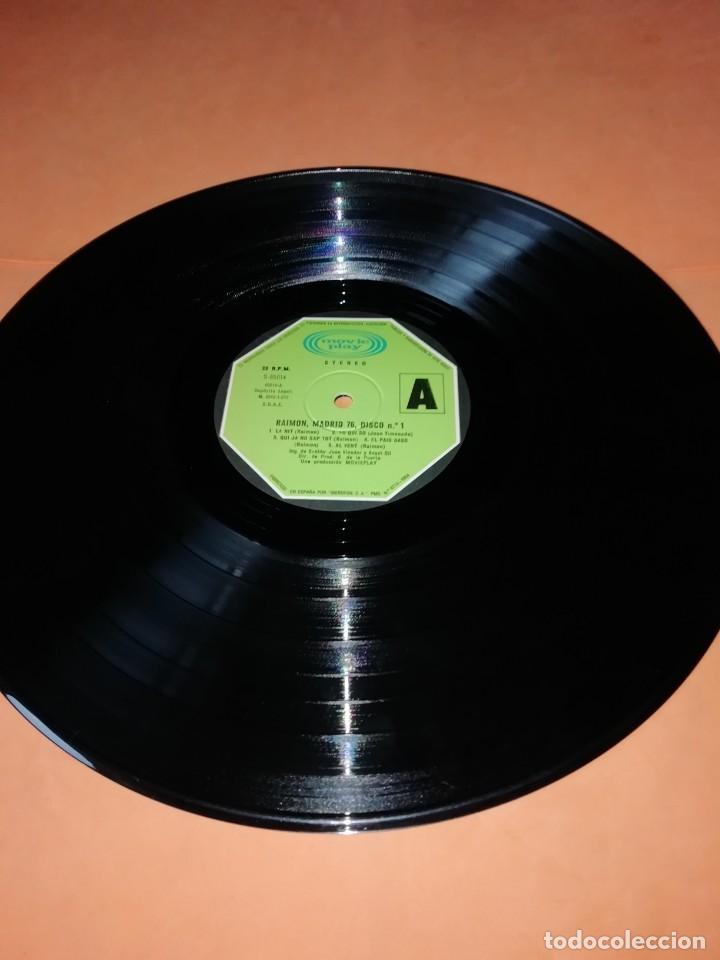 Discos de vinilo: RAIMON. EL RECITAL DE MADRID. DOBLE LP . MOVIEPLAY RECORDS 1976 - Foto 15 - 197651781