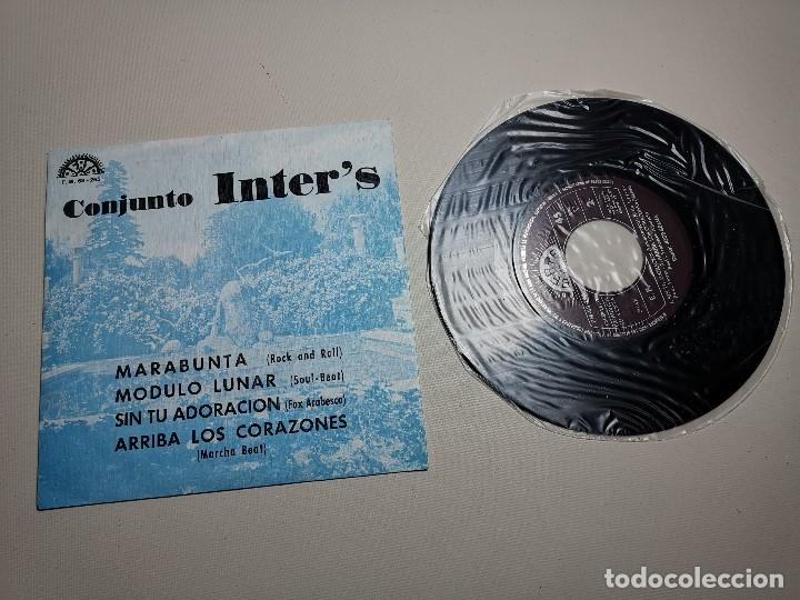 Discos de vinilo: CONJUNTO INTER´S : EP PROMOCIONAL 1974 BERTA, RARO, EXCEPCIONAL Y NUEVO !!! SIN USO - Foto 2 - 197656896