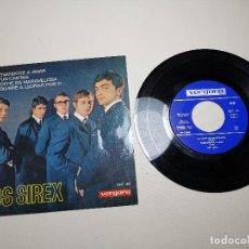 Discos de vinilo: LOS SIREX - ENSEÑANDOTE A AMAR - EP 1965 VERGARA 287-XC. Lote 197657337
