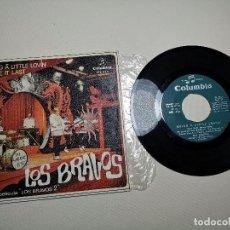 Discos de vinilo: LOS BRAVOS LOS BRAVOS 2 BSO OST BRING Á LITTLE LOVIN/MAKE IT LAST SINGLE 7'' 1967 COLUMBIA. Lote 197659470