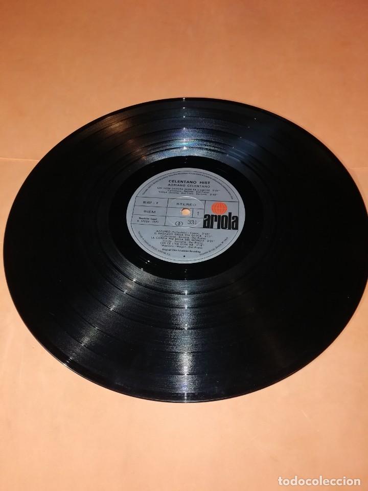 Discos de vinilo: ADRIANO CELENTANO. CELENTANO HITS. ARIOLA 1971. - Foto 7 - 197659740