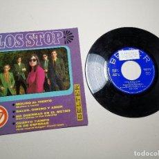 Discos de vinilo: LOS STOP SALUD,DINERO Y AMOR/CUENTO TIEMPO HE DE ESPERAR/MOLINO AL VIENTO/+1 EP 7''1967 BELTER SPAIN. Lote 197659742