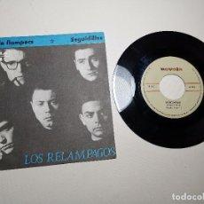 Discos de vinilo: LOS RELAMPAGOS : NIT DE LLAMPECS / SEGUIDILLAS, SINGLE 1965-NOVOLA. Lote 197659978