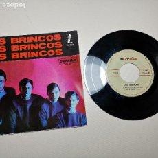 Discos de vinilo: LOS BRINCOS. FLAMENCO / NILA / BYE BYE CHIQUILLA / ES COMO UN SUEÑO. ZAFIRO - NOVOLA 1964.. Lote 197660305